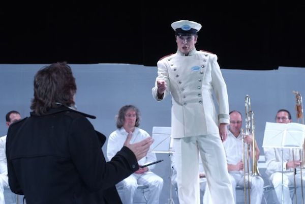 Tobias Pfülb as Caronte - L'Orfeo - C. Monteverdi - Cuvillètheater München - Copyright H. Posch
