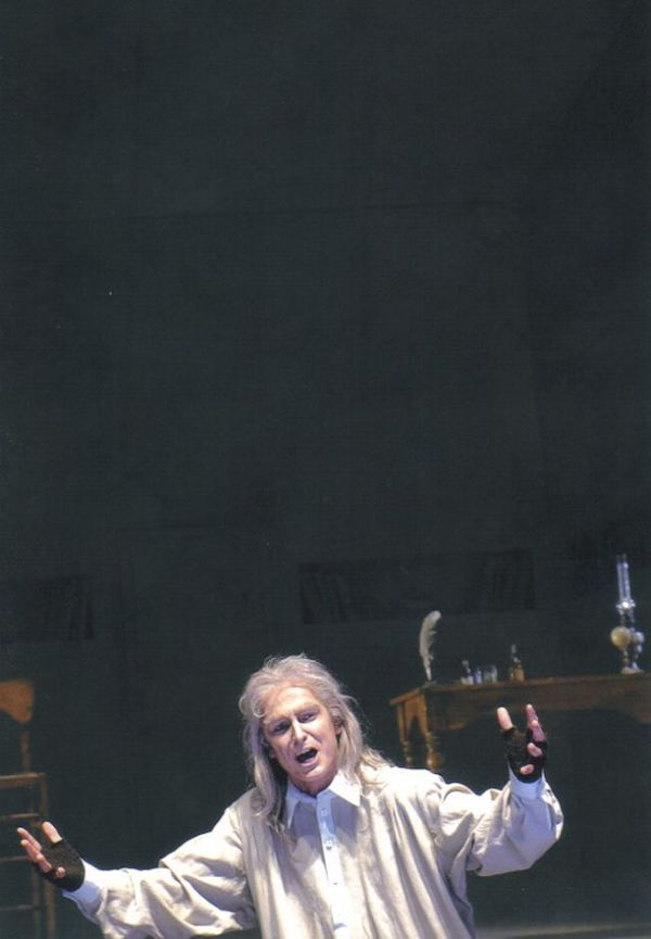 Tobias Pfülb as Don Pasquale - G. Donizetti - Theater Krefeld - Mönchengladbach - Copyright M. Stutte