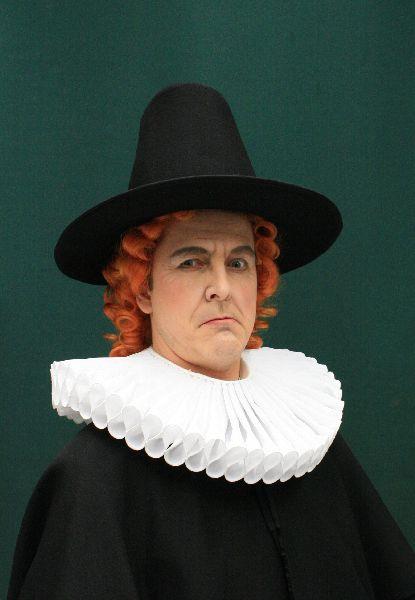 Tobias Pfülb as Bürgermeister van Bett - Zar und Zimmermann - A. Lortzing - Theater Neustrelitz - Copyright Detlev Kersten