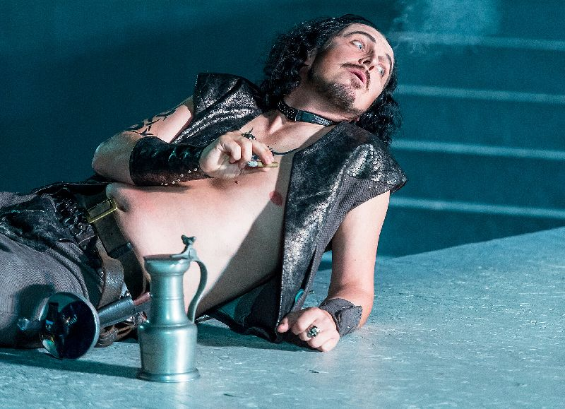 Tobias Pfülb as Sparafucile - Rigoletto - G. verdi - Festival Oper Schenkenberg - Copyright Ingo Höhn